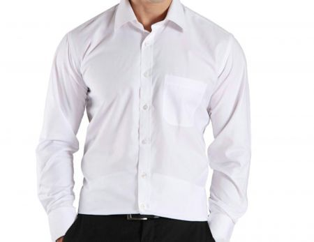 Buy Smart White Shirt Online | Best Prices in India: Rediff Shopping