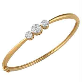 Buy Ag Real Diamond Pressure Set Fashion Bracelet line