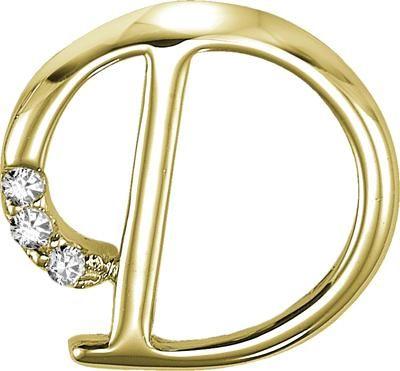 Buy Kiara U0027du0027 Alphabet Design American Diamond Pendant Online