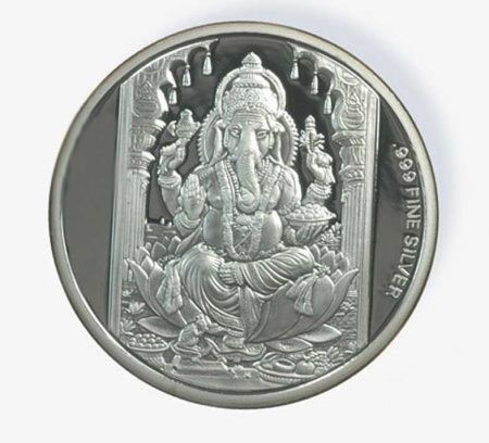 200 Gm Ag 999 Pure Silver Coin