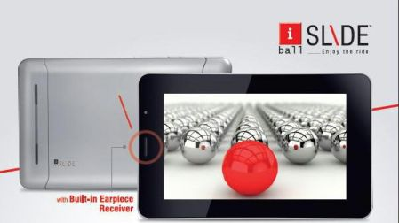 Iball Slide 3g7271 3g Video Calling Android Tablet