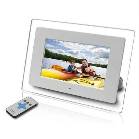 Buy Victor 12 Inch Digital Photo Frame USB Card Remote Online | Best ...