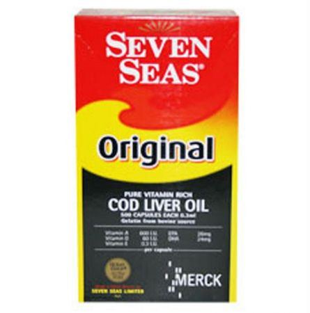 Buy Original Seven Seas Cod Liver Oil 500 Capsuels Price and Features.Shop Original Seven Seas Cod Liver Oil 500 Capsuels Online.