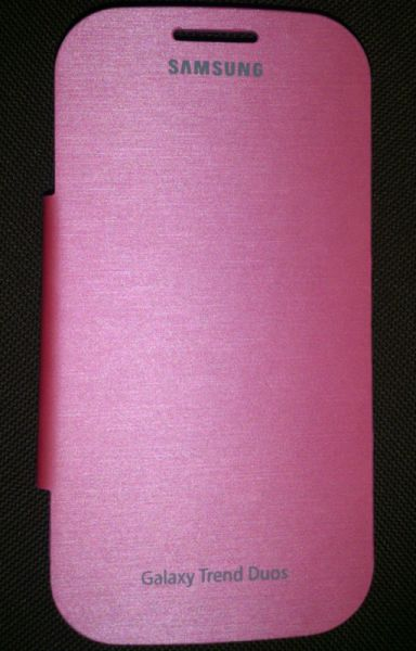 Samsung Galaxy S Duos S7562 Flip Cover Book Case (pink)