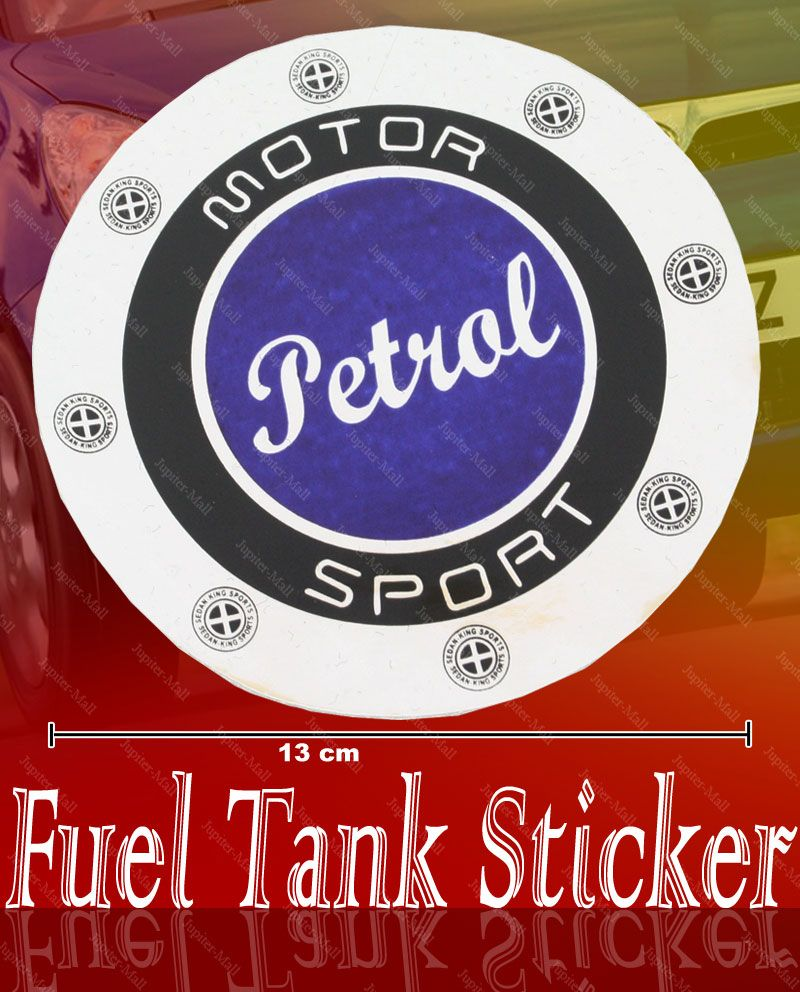 Car sticker design online india - Buy Petrol Logo Fuel Tank Lid Vinyl Sticker Car Decor 03 Online Best Prices In India Rediff Shopping