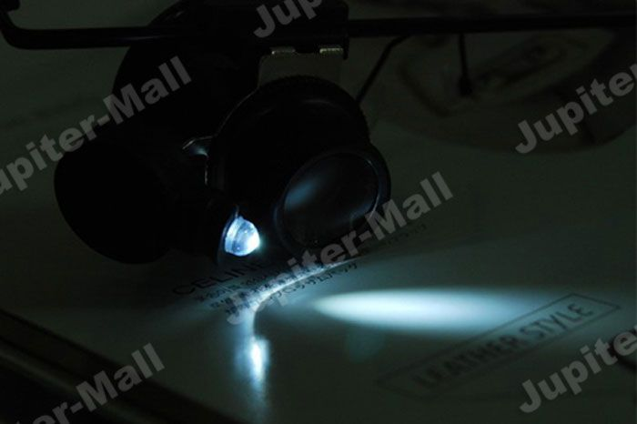 5X Watch Repair LED Magnifier Magnifying Glass