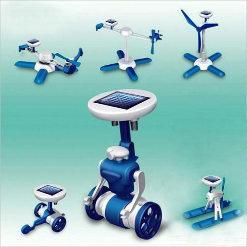 Buy 6 In 1 Educational Solar Power Energy Robot Kit - online