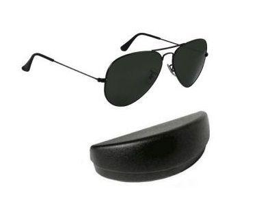 Buy Black Classic Aviator Sunglasses online