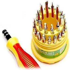 Buy Original Jackly 32 Pieces Magnetic Screw Driver Tool Kit Diy Crafts online