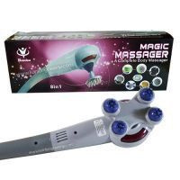 Buy Equipped With 7 Different Massage Head. Magic Massager King Size With 7 Attachments online