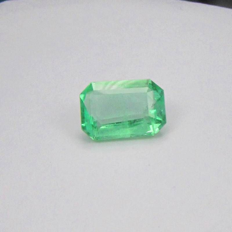 detail product in aaa white solid genuine ring tanzanite cut emerald men