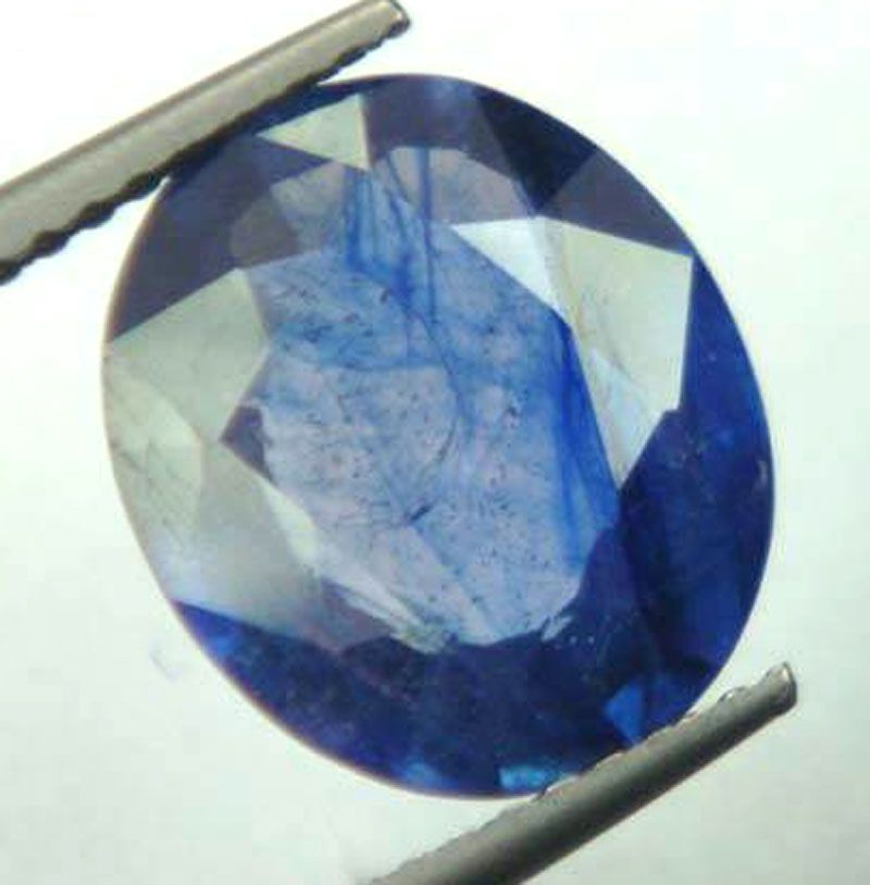 Buy Lab Certified 4.44cts{4.93 Ratti}transparent Natural Blue Sapphire/neelam online