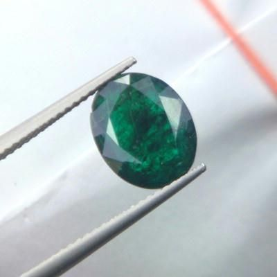Buy Certified 2.92cts Natural Dark Green Emerald/panna online