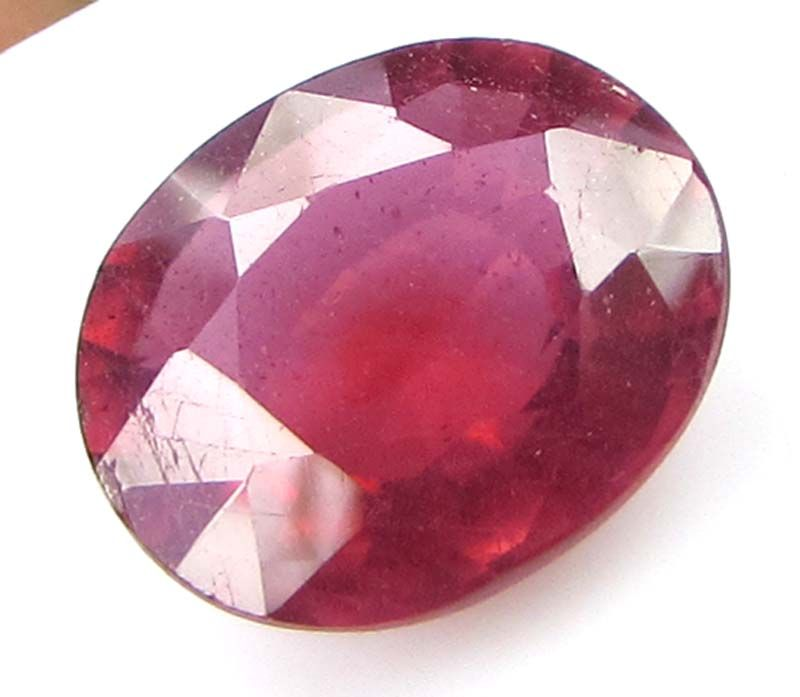Buy Premium 6.87ct Lab Certified Natural Ruby/manek(for Surya) online
