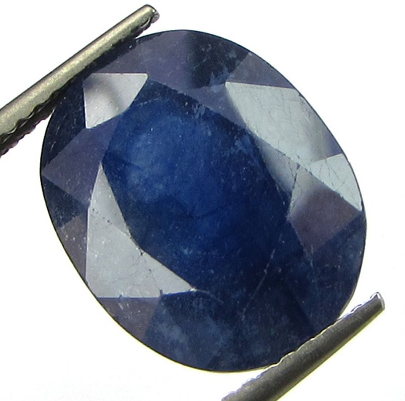 Buy Lab Certified 9.12cts Natural Blue Sapphire/neelam(for Shani/saturn) online