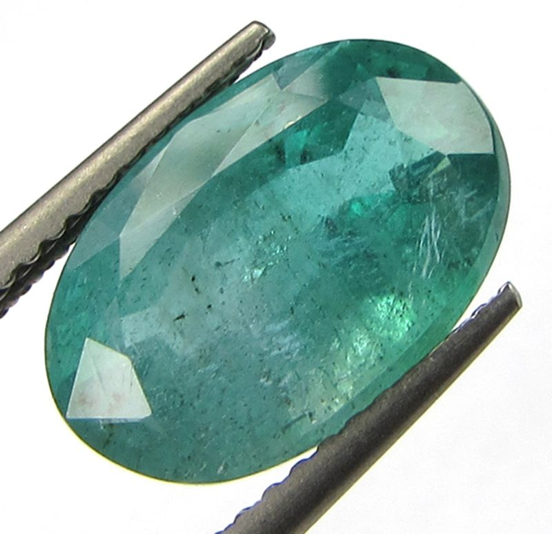 Buy Lab Certified 4.66cts(5.17 Ratti) Natural Transparent Zambian Emerald/panna online