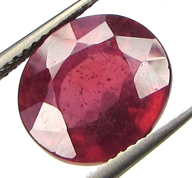 Buy Premium 8.64ct Lab Certified Natural Ruby/manek(for Surya) online