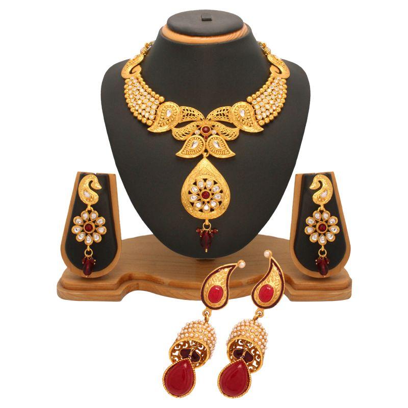 Buy Vendee Fashion New Stylesh Fashion Combo Jewellery (1444) online