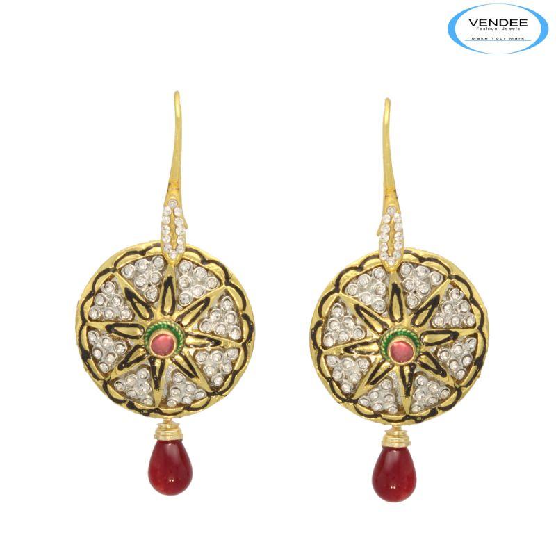 Buy Vendee Pretty Indian Fashion Earrings online