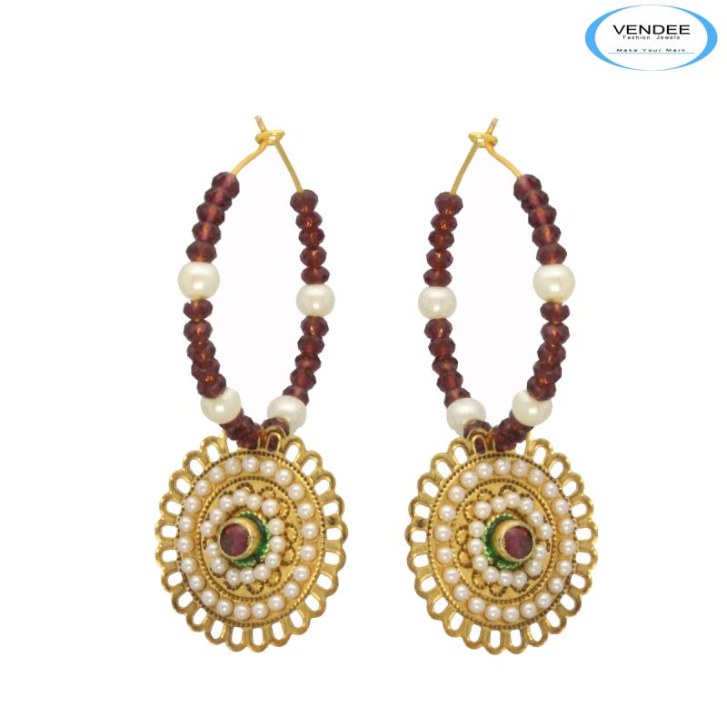 Buy Vendee Beautiful Fashion Earrings online