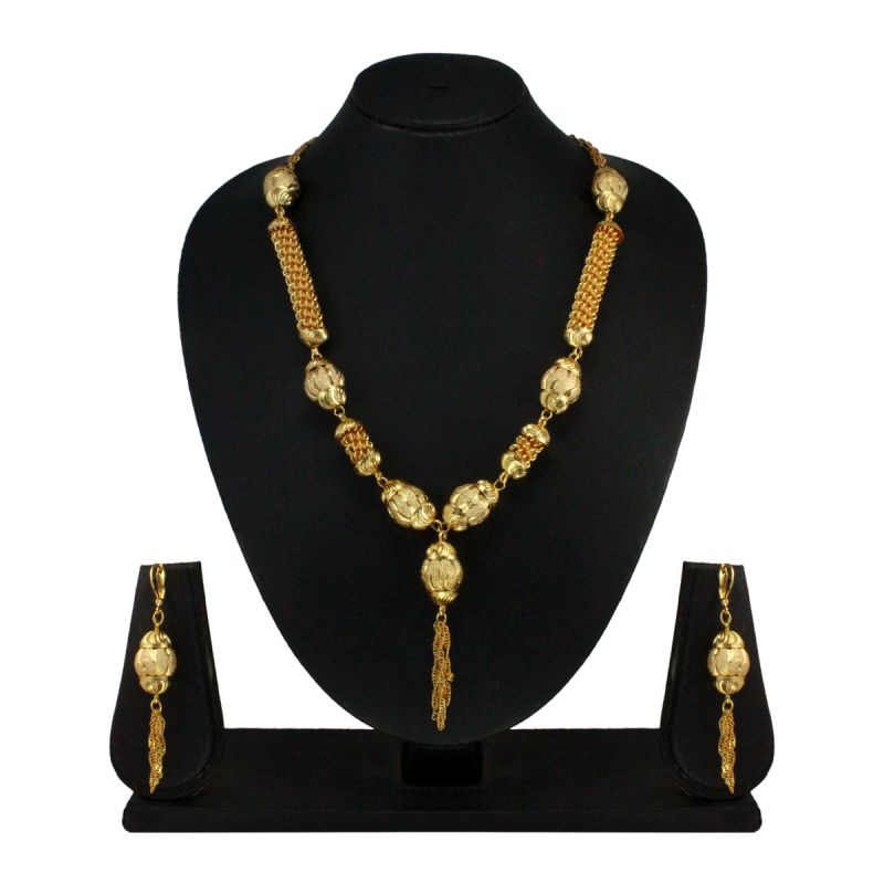 Buy Vendee Fashion Danglers Necklace Set - 7748 online