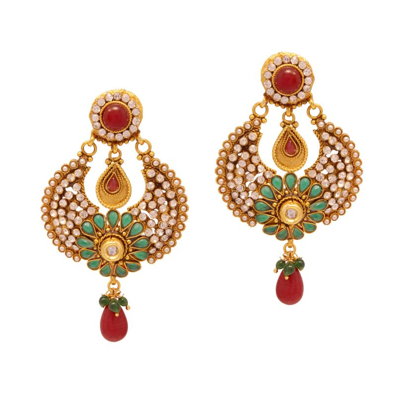 Buy Vendee Indian Fashion Earrings online