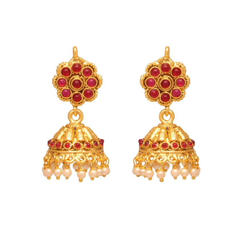Buy Vendee Fashion Elegant Jhumki Earrings online