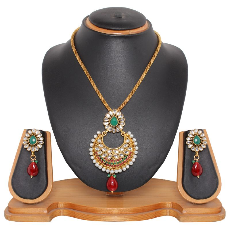 Buy Vendee Fashion Attractive Pendant Set (8187a) online