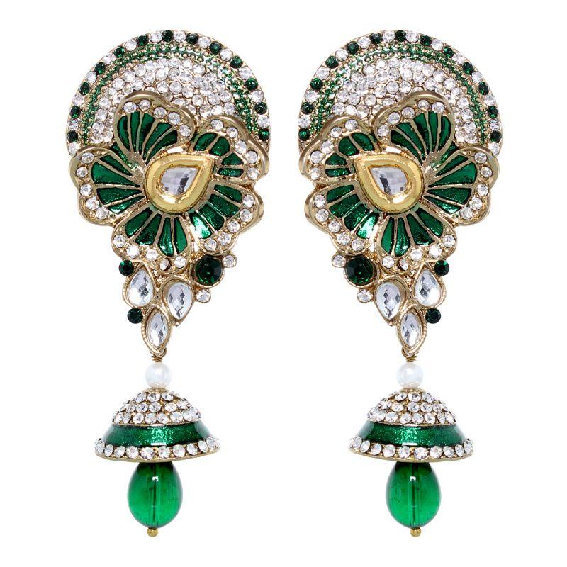 Buy Vendee Fashion Leafy Style Earrings (8391) online