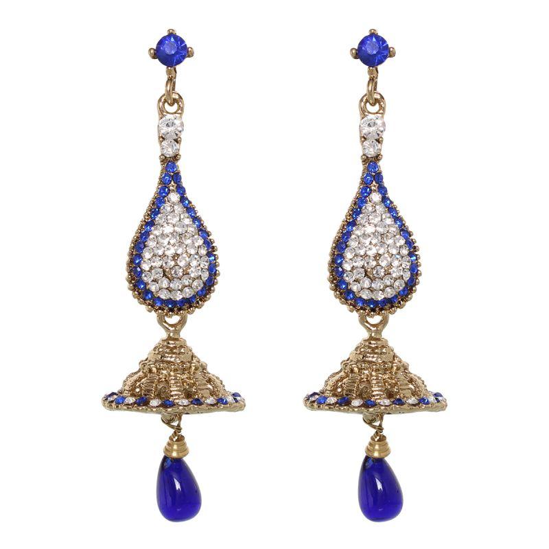 Buy Vendee Fashion Royal Jhumar Earrings online