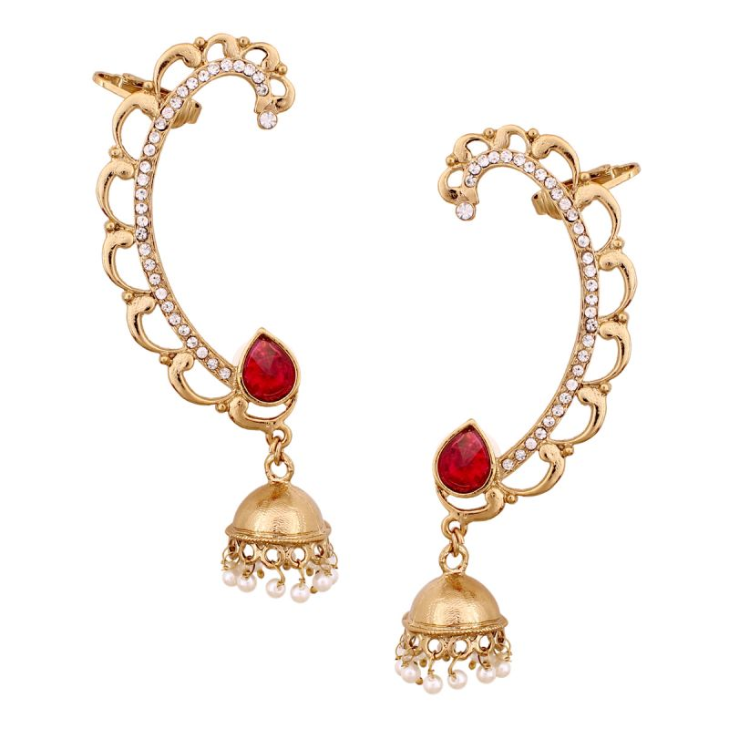 Buy Vendee Fashion Designer Cuffs Earrings 8555 online