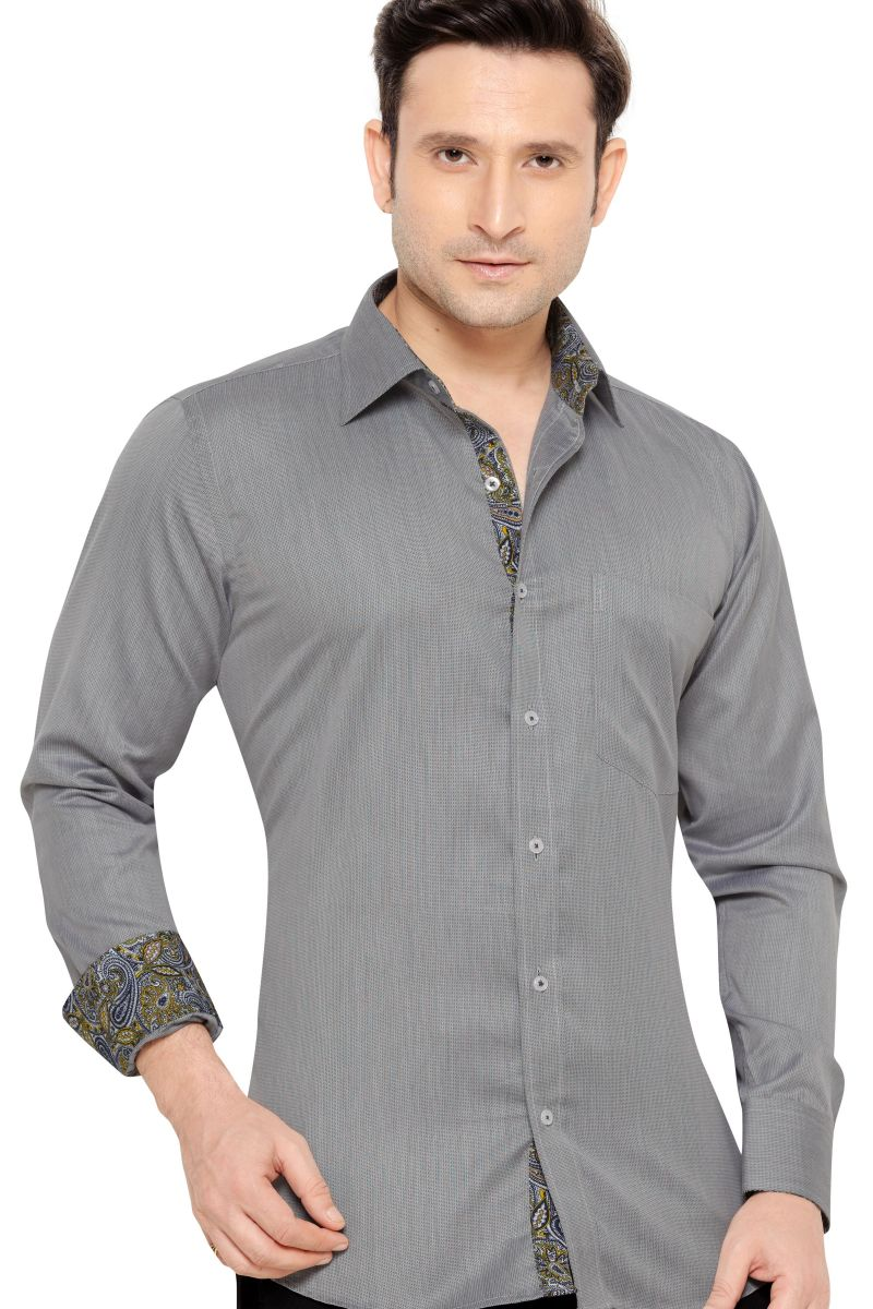 Buy Mens Formal Office Wear Shirt Black By Corporate Club Online