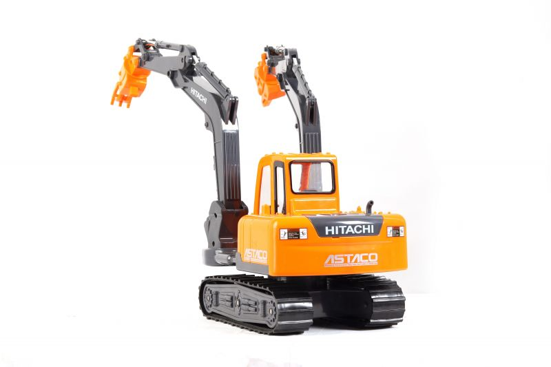 Buy Toyco Hitachi Construction Machinery Double-arm Specification Toy Machine (code - Thcmda) online