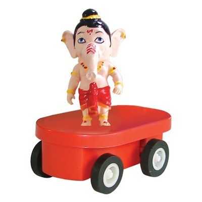 Buy Figurine Fun Wheels Ganesha By Buddyz online