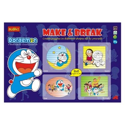 Buy Doraemon Make & Break By Buddyz online