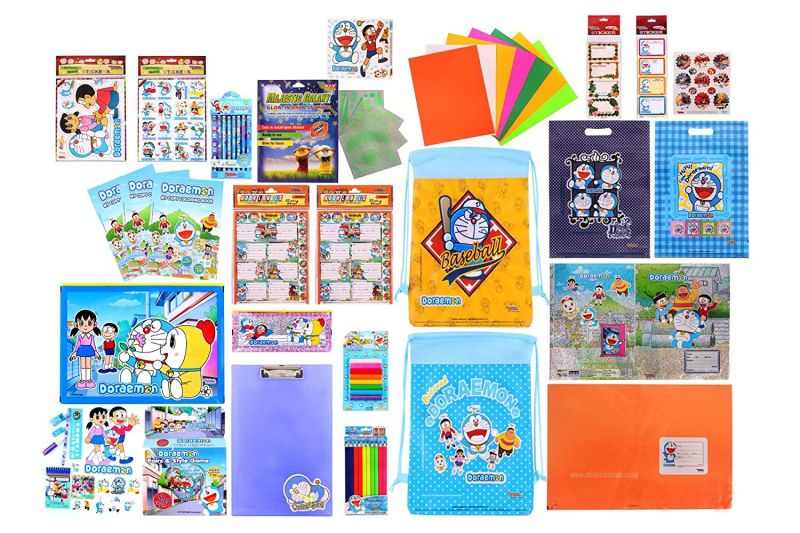Buy Doraemon Combo 1499 Multicolour (pack Of 1) By Sticker Bazaar online