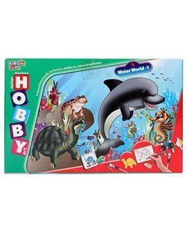 Buy Virgo Toys Hobby Art Jr Assorted Water World 1 - Stencil Art & Craft Kit online