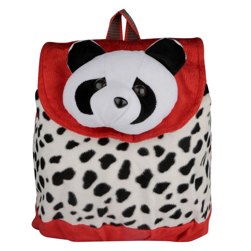 Buy New Rackshak Panda School Bag - Red & White - online