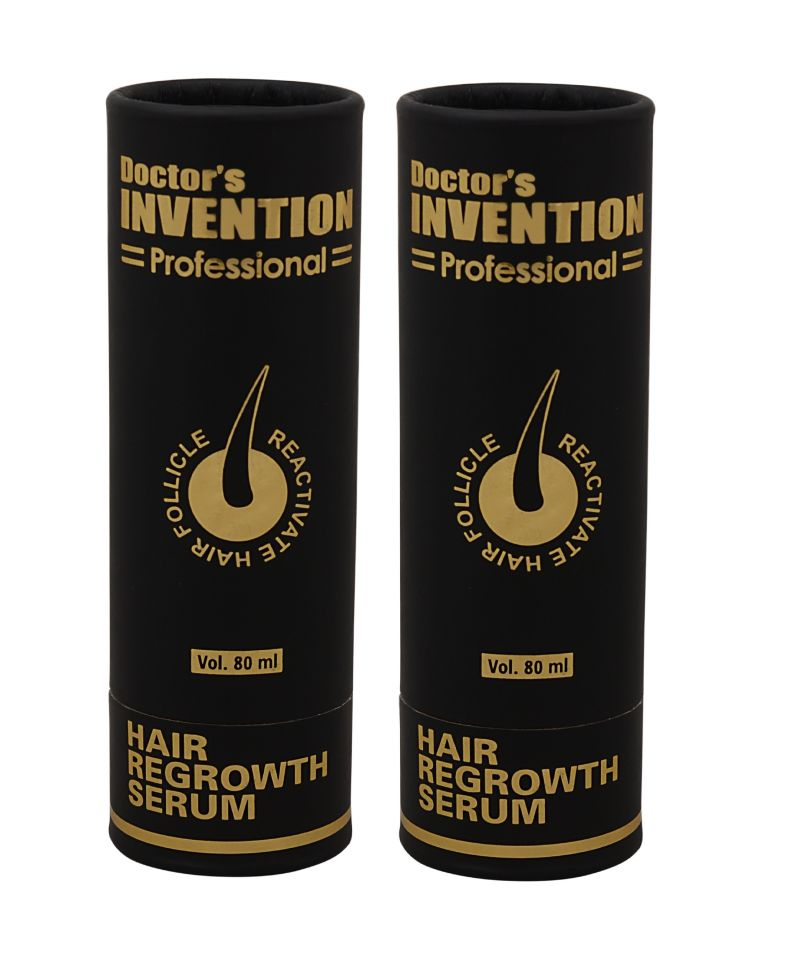 Buy Doctor's Invention Professional, Regrowth Hair Serum (80 Ml Each) - Pack Of 2 (code - Diphgs-2) online