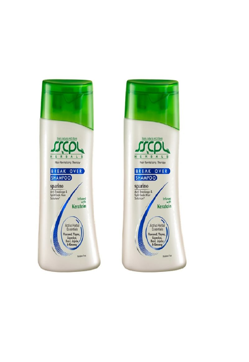 Buy Sscpl Herbals Sparino Break Over Shampoo - Pack Of 2 (each 100ml)( Code - Shampoo_sbo_02 ) online