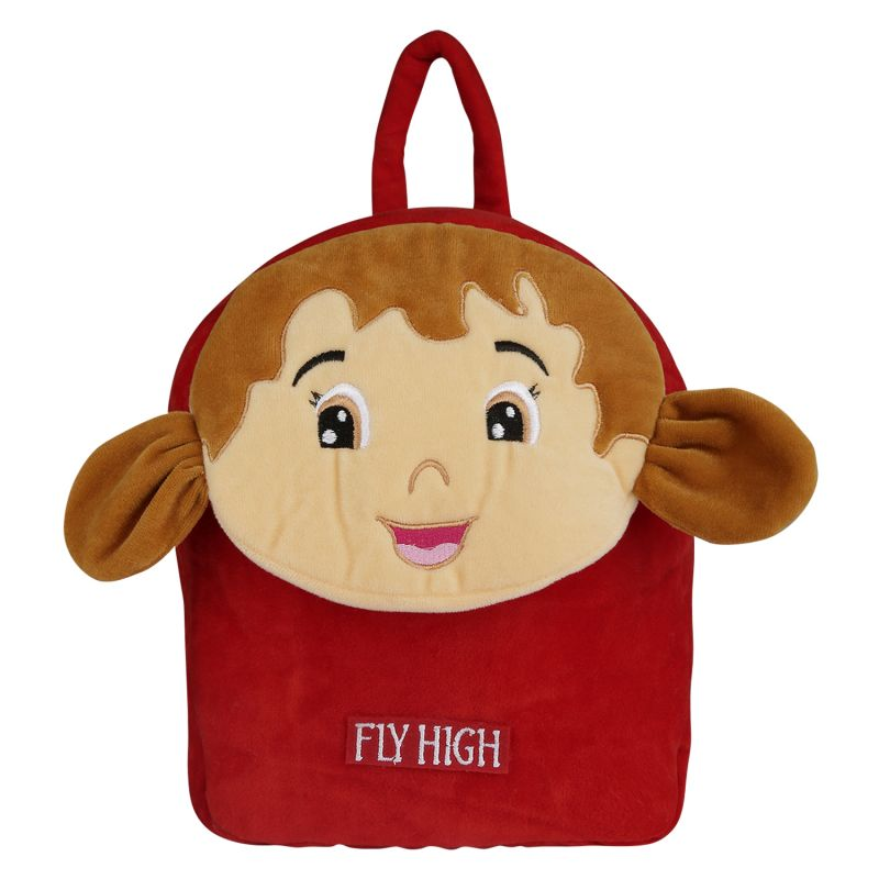 Buy Velboa School Bag - Red & Brown 1 By Lovely Toys online