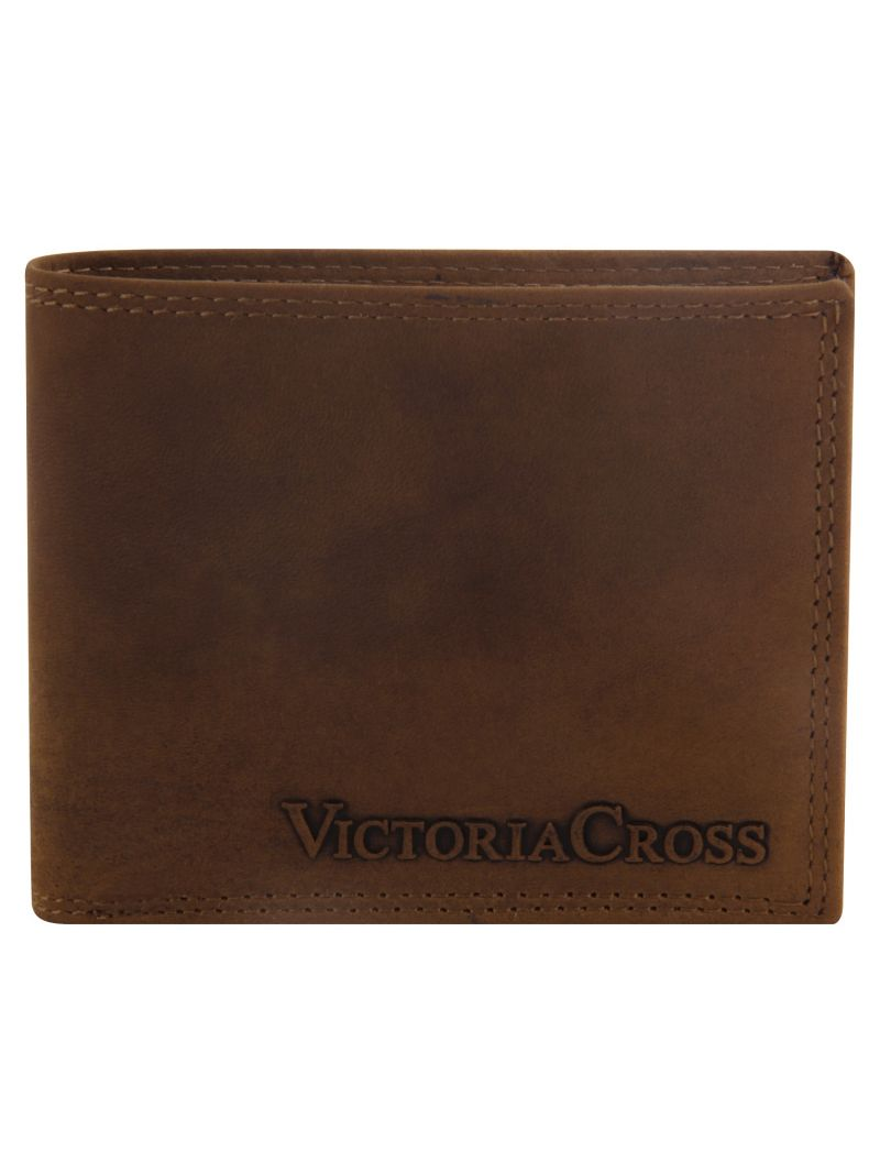 Buy Mens Leather Wallet (tan) By Victoria Cross (code - Vcw 05) online