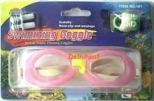 Buy Swimming Goggles Wit Ear Plugs And Nose Clip online