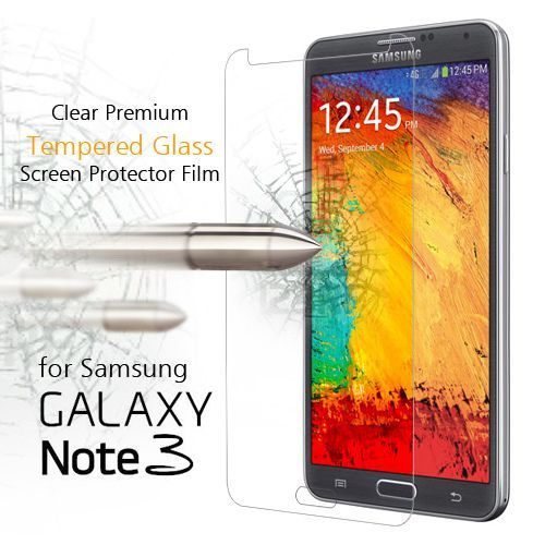 Buy Premium Samsung Galaxy Note 3 Tempered Glass 2.5d Screen Protector Scratch online
