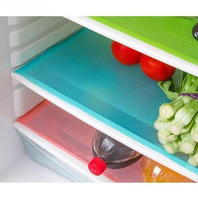 Buy Futaba Multifunction Refrigerator Mat - Pink - Pack Of 4 online