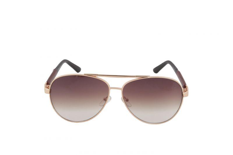 Buy Petrol Brown Aviators Sunglasses For Men online