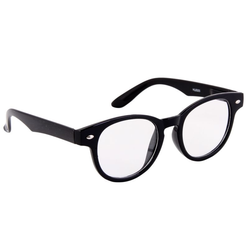 Buy Petrol Black Round Sunglasses(clear) online