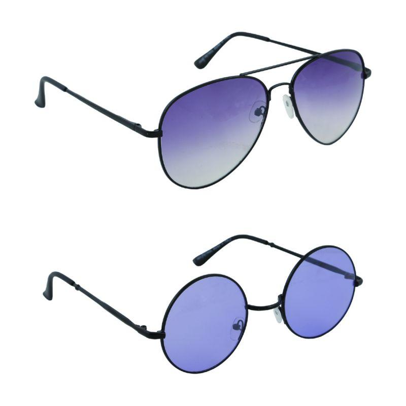 Buy Nectar Avaitor Round Sunglasses For Men online