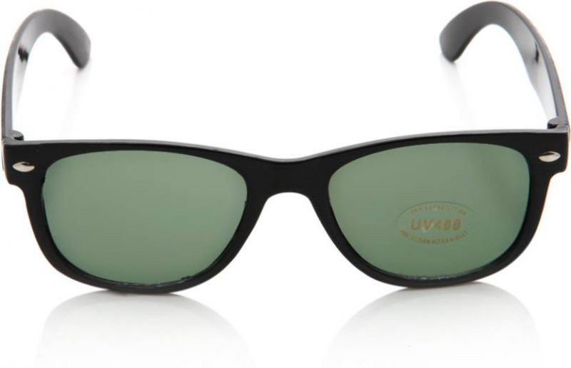 Buy Nectar Black Wayfarer Sunglasses For Men online