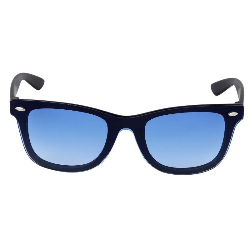 Buy Nectar Blue Wayfarer Sunglasses For Men online